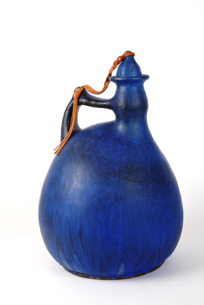 Jan Grove | Jug,1967 | 59cmx40cm| hard burned, earthenware with matte glaze, collection of the Confederation Centre Art Gallery