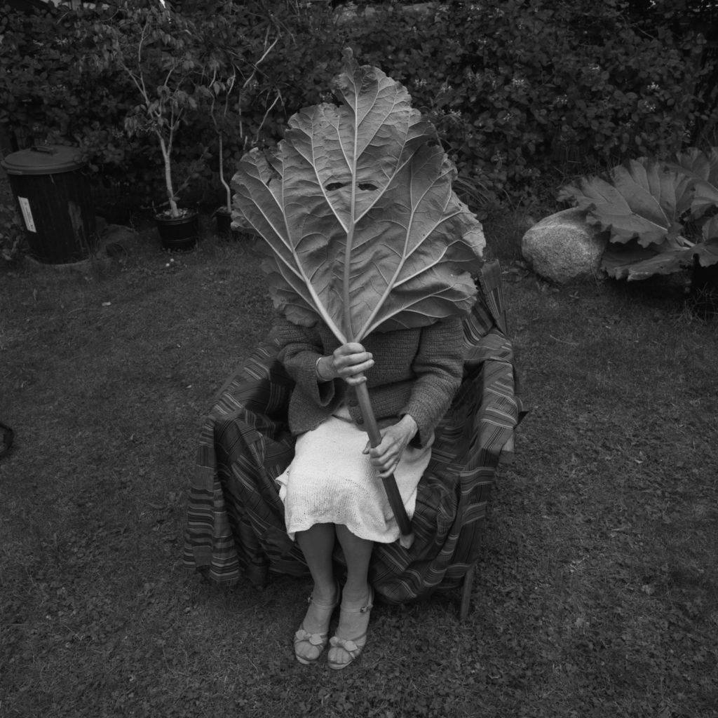 Carol Sawyer   Last Known Photograph of Natalie Brettschneider  Vancouver, 1986   Digital print