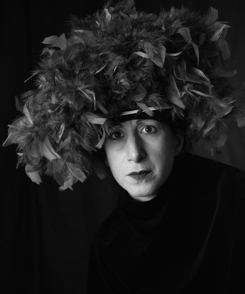 Carol Sawyer | Natalie Brettschneider Performs Nancy Cunard's Hat |Paris, c1925 | silver gelatin print